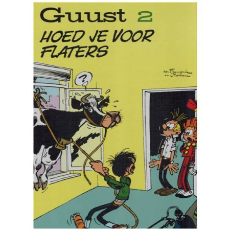 Guust Flater    chronologisch 02 HC Hoed je voor flaters [gags 75-143]