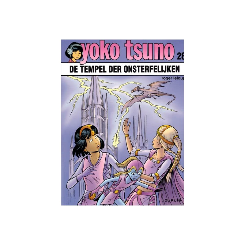 Yoko Tsuno  28 De tempel der onsterfelijken