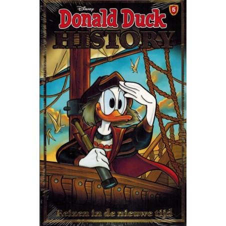 Donald Duck  History pocket 05 Reizen in de nieuwe tijd