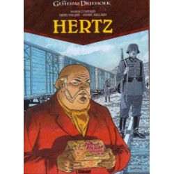 Geheime driehoek Hertz set deel 1 t/m 5 HC