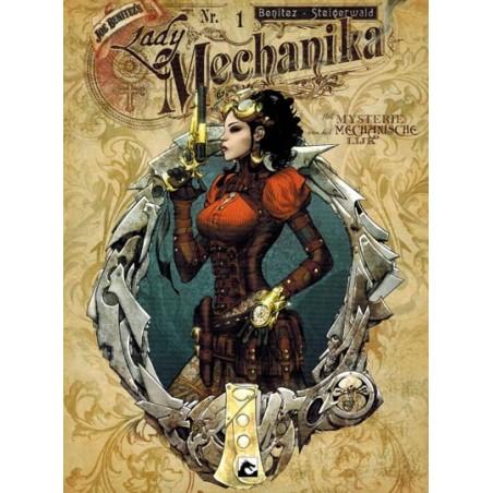 Lady Mechanika set Het mysterie van het mechanische lijk deel 1 t/m 3