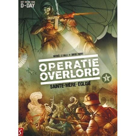 Operatie Overlord  set deel 1 t/m 6 (Het begin van D-Day)