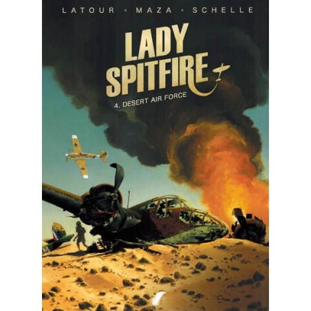 Lady Spitfire 04 Desert air force