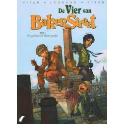 Vier van Bakerstreet 01 De zaak van het blauwe gordijn