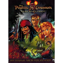 Pirates of the Carribean 03 Dead man's chest Het verhaal van de film als strip