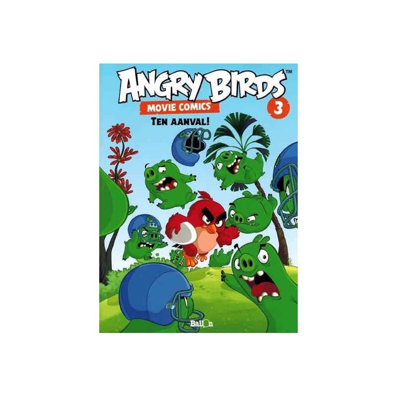 Angry birds Movie comics 03 Ten aanval!