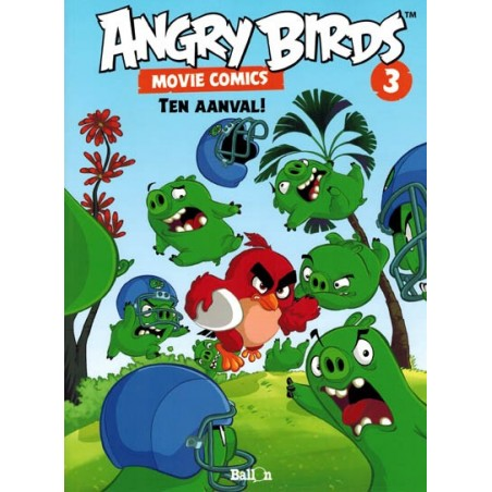 Angry birds Movie comics 03 Ten aanval!
