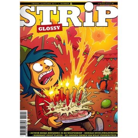 Strip glossy 06 (De Jongh, Donald Duck jubileumstrip, Meimoorden (Heuvel), Saul (Kusbiantoro)
