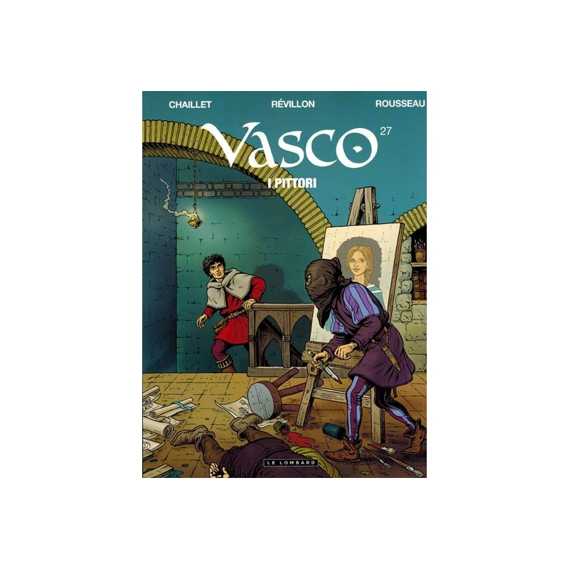 Vasco  27 I pittori (naar Gilles Chaillet)