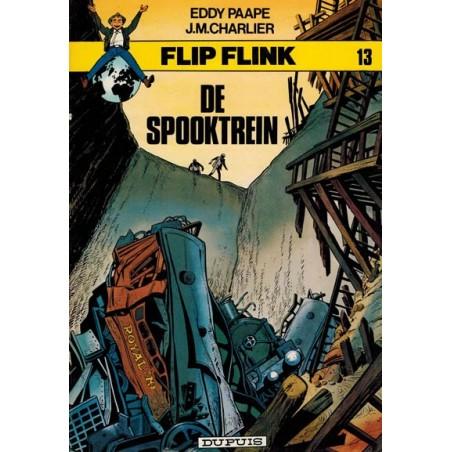 Flip Flink 13 De spooktrein 1e druk 1982