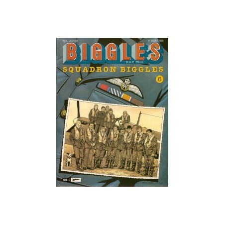 Biggles 04<br>Squadron Biggles*<br>herdruk