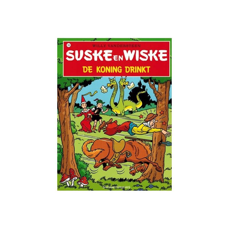 Suske & Wiske  105 De koning drinkt