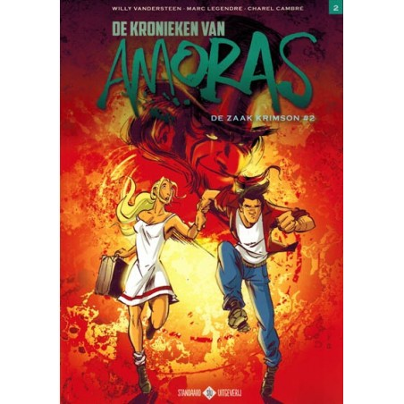 Suske & Wiske   Amoras 08 De zaak Krimson 2 (naar Willy Vandersteen)