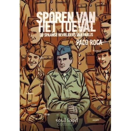 Roca strips Sporen van het toeval De Spaanse bevrijders van Parijs