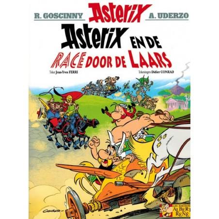 Asterix  37 De race door de laars (naar Uderzo & Goscinny)