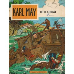 Karl May 28 De flatboat 1e druk 1970