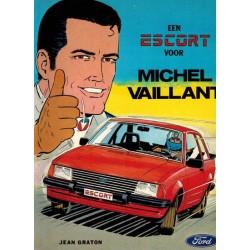 Michel Vaillant reclamealbum Een escort voor Michel Vailant 1e druk 1980