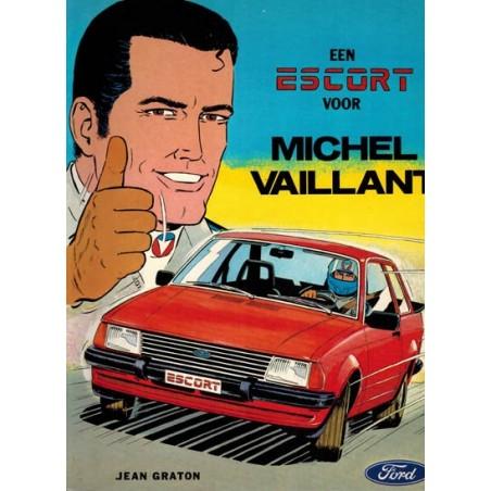 Michel Vaillant reclamealbum Een escort voor Michel Vaillant 1e druk 1980
