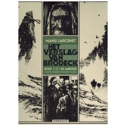 Larcenet strips HC Het verslag van Brodeck set deel 1 & 2 (naar Philippe Claudel)