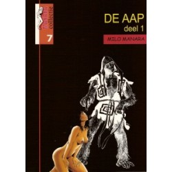 Manara collectie set De aap deel 1 & 2 1e drukken 2007