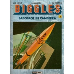 Biggles Heritage 02<br>Sabotage in Canberra