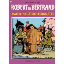 Robert en Bertrand 12 Zwarte Mie de orgeldraaister 1e druk 1975