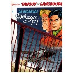 Tangy & Laverdure  classic HC 01 De bedreigde Mirage