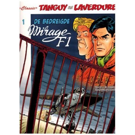 Tangy & Laverdure  classic 01 De bedreigde Mirage