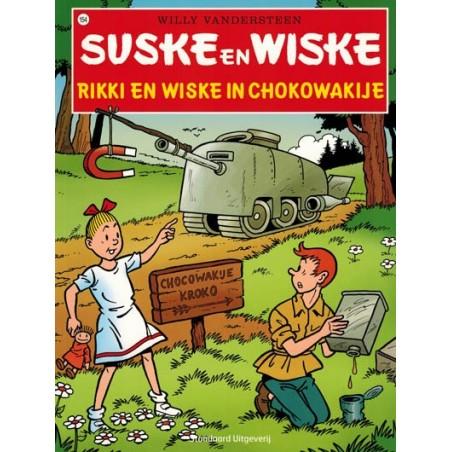 Suske & Wiske  154 Rikki en Wiske in Chokowakije