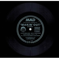 Mad flexidisc single Makin' out 1978 singlesided