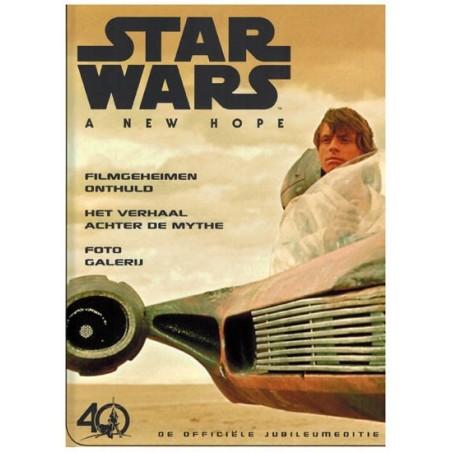 Star Wars  NL A new hope De officiele jubileumeditie filmboek