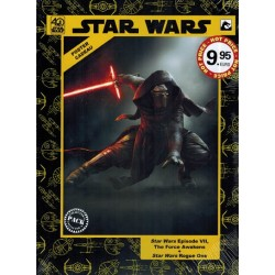 Star Wars  NL filmbook pack Episode VII The force awakens / Rogue One + poster