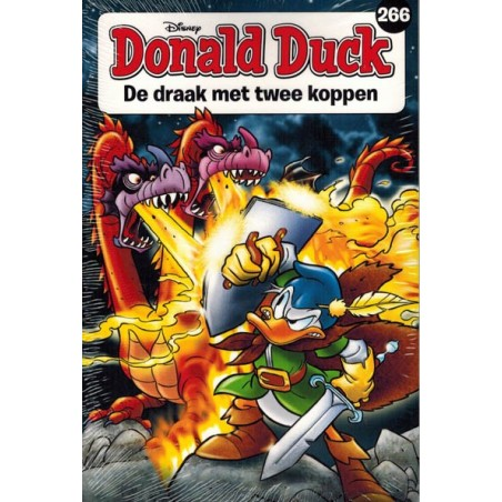 Donald Duck  pocket 266 De draak met twee koppen