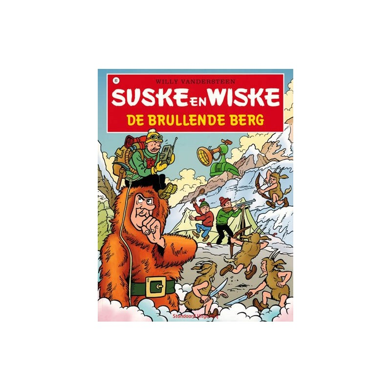 Suske & Wiske  080 De brullende berg