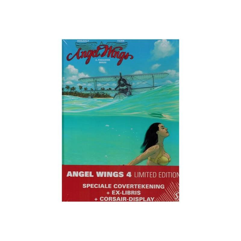 Angel wings 04 HC Limited edition Paradise birds (alt. omslagillustratie, prent & Corsair display)