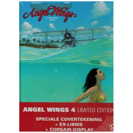 Angel wings 04 HC Limited edition Paradise birds (alt. omslagillustratie, prent & Corsair display)