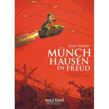 Flix strips Munchhausen en Freud De waarheid over het liegen