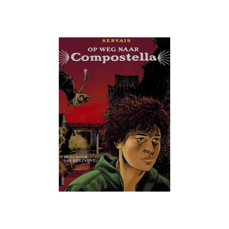 Servais  strips HC Op weg naar Compostella 04 De vampier van Bretagne