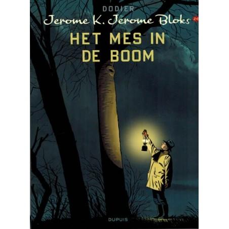 Jerome K. Jerome Bloks  26 Het mes in de boom