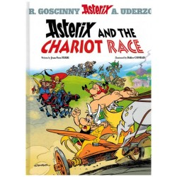Asterix  UK 37 The chariot race [De race door de laars] (naar Uderzo & Goscinny)