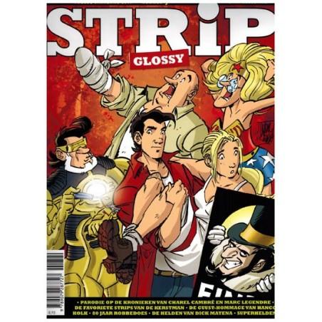 Strip glossy 07 (Suske & Wiske, Charel Cambre, Fflint, Matena-strip Elvis, 80 jaar Robbedoes)