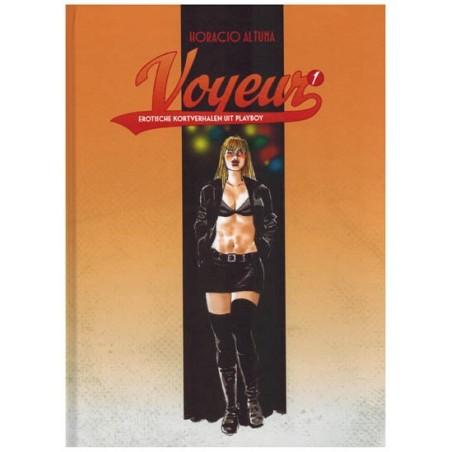 Voyeur integraal set HC deel 1 & 2 Erotische kortverhalen uit Playboy