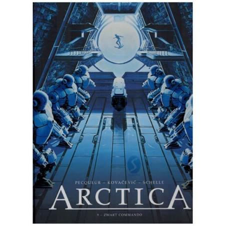 Arctica 09 HC Zwart commando