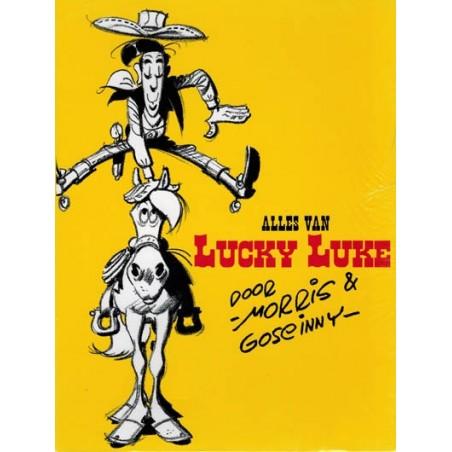 Lucky Luke  box Alles van Morris & Goscinny in cassette herdrukken
