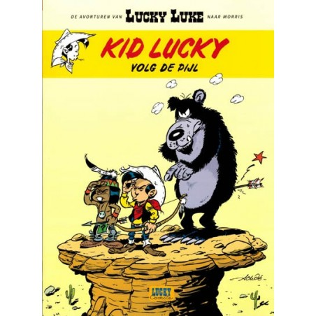 Lucky Luke   Kid Lucky 04 Volg de pijl