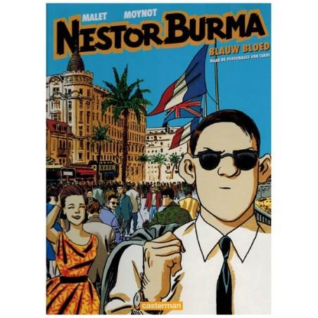 Nestor Burma  12 HC Blauw bloed