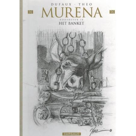 Murena  HC 10 Het banket schetsboek