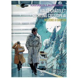 Ravian   HC 09 Halte Chatelet, ricgting Cassiopeia