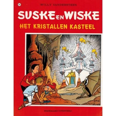 Suske & Wiske 234%  Het kristallen kasteel herdruk (naar Willy Vandersteen)