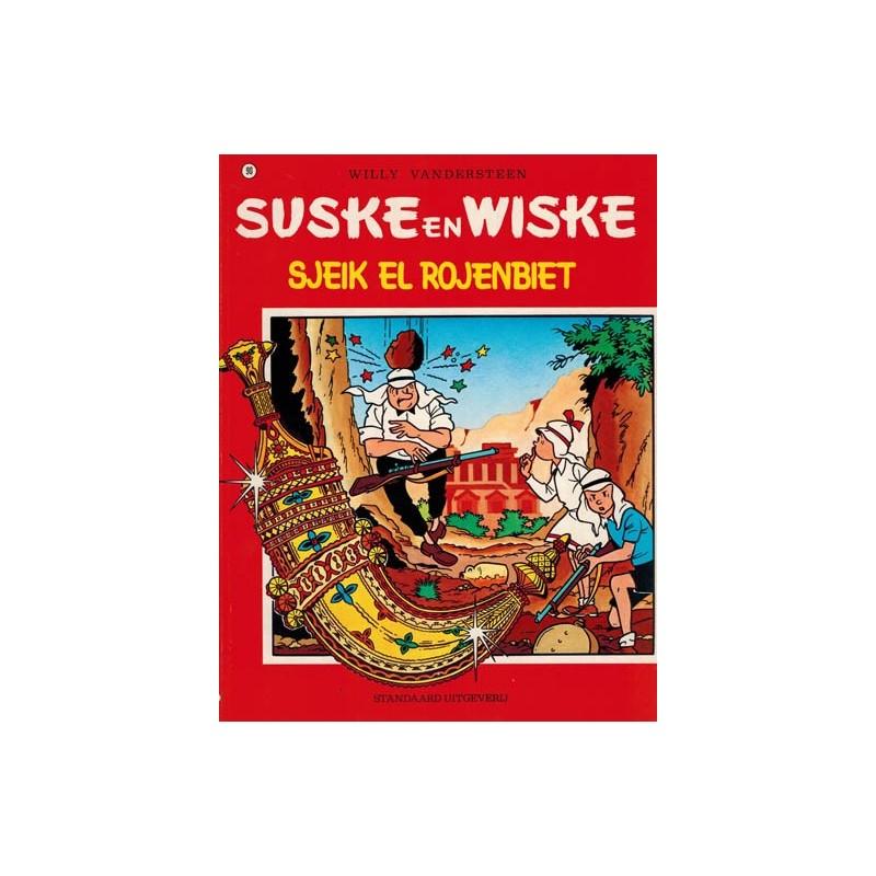 Suske & Wiske 090 Sjeik El Rojenbiet  herdruk